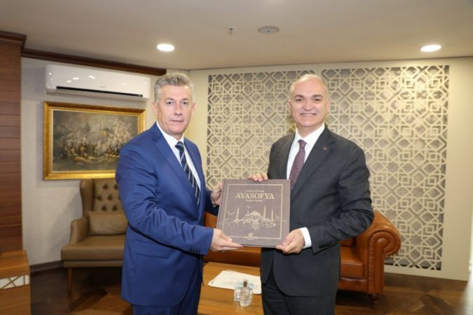 BİK Şube Müdürü Çorbacı Vali ve Başkanı ziyaret etti