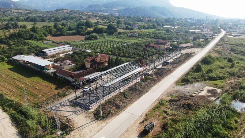 Büyükşehir, Sakarya tarımına ivme katacak projenin yüzde 50'sini tamamladı