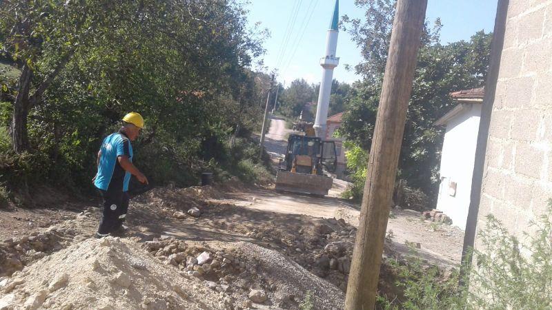 Akbaş Mahallesi 2 bin 300 metrelik yeni hat ile kesintisiz içmesuyuna kavuşacak