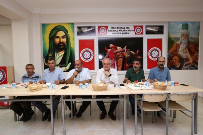 Başkan Aygün, Muharrem iftarına katıldı