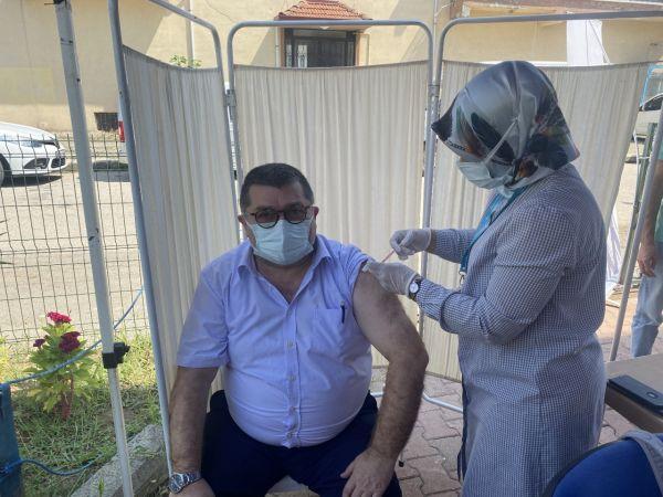 Düzce'de üç haftada 26 bin kişi aşılandı