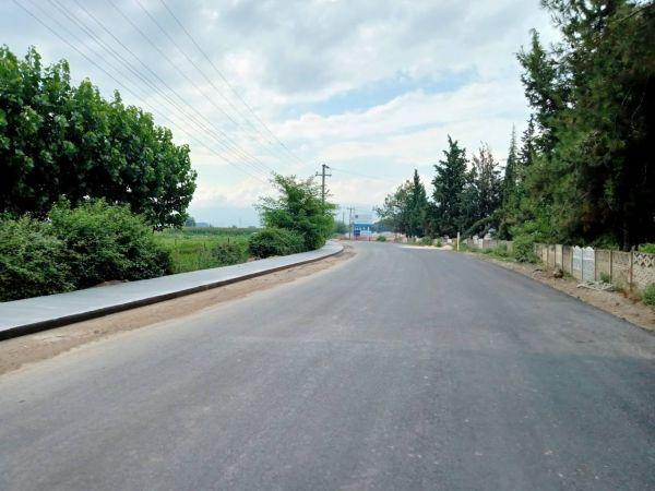 Büyükşehir beton yaya yolu imalatına devam ediyor
