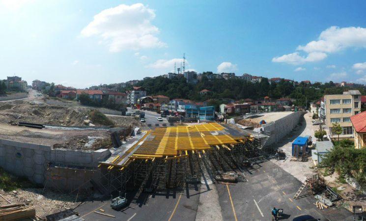 SGK Köprülü Kavşağı'nda son işlem