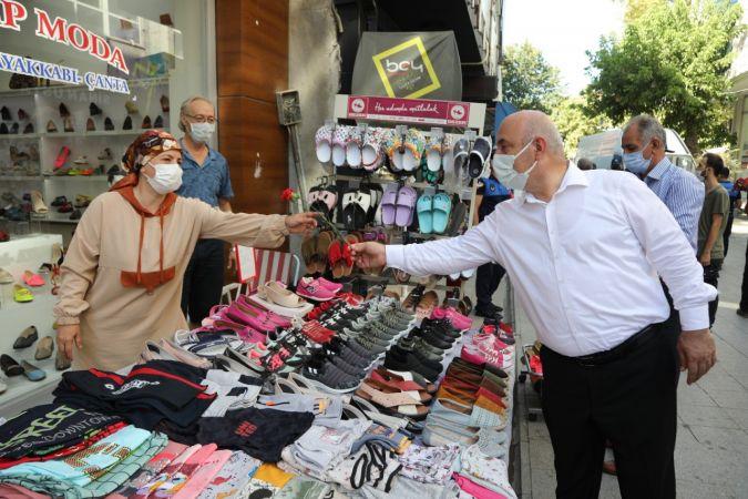 Başkan Bıyık, Zabıta haftasını esnafla birlikte kutladı