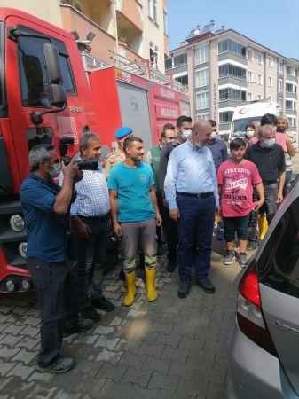 Bozkurt'ta bulunan ekiplere Bakan'dan teşekkür