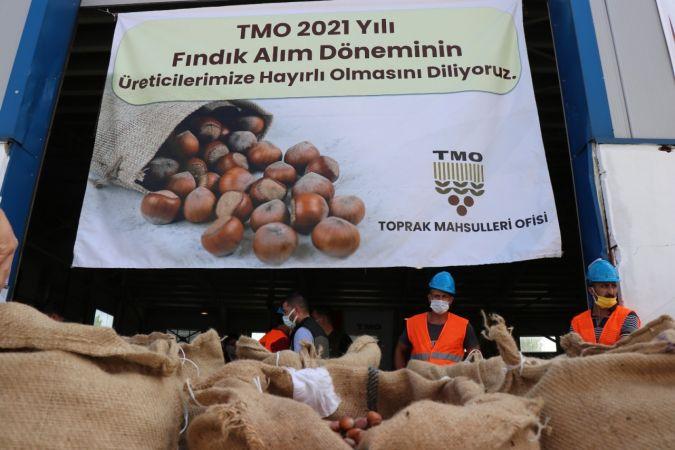 2021 yılı ilk fındık alımı törenle Sakarya'da gerçekleşti