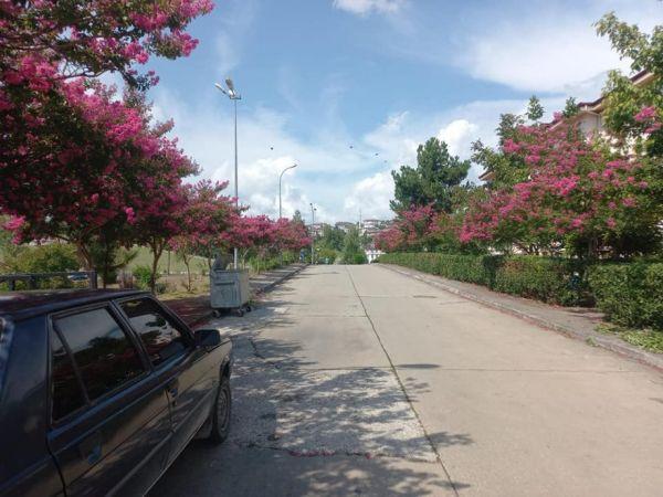 Bahçeşehir renklendi