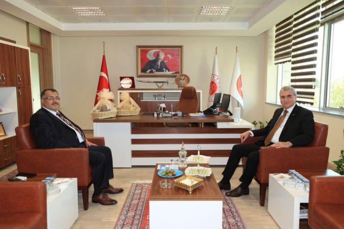 Başkan Yüce'den BAM Cumhuriyet Başsavıcısı Yılmaz'a ziyaret