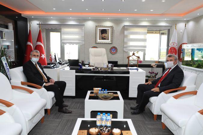 Başkan Yüce Cumhuriyet Başsavcısı Köse'ye başarılar diledi