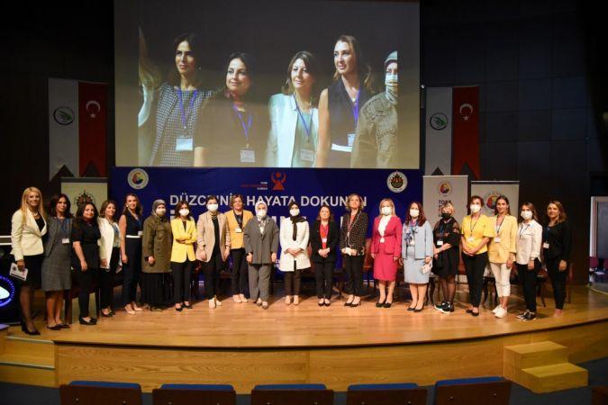 Düzceli iş kadınları Düzce Üniversitesi'nde buluştu