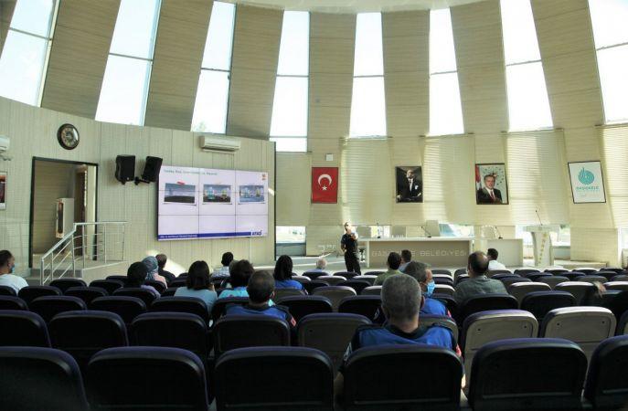 Başiskele Belediye personeline afet farkındalık eğitimi