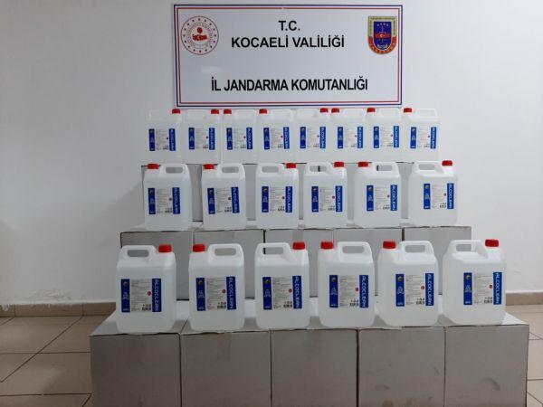 700 litre sahte alkol ele geçirildi