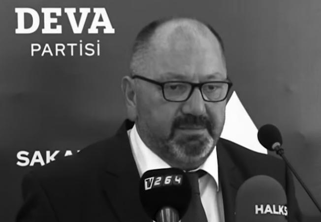 """""""DEVA Partisi İl Yönetim Kurulu Üyesi Erdinç Öztürk hayatını kaybetti."""""""