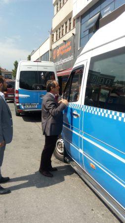 CHP'li Ecevit Keleş Unkapanı Meydanı'nda esnafın sorunlarını dinledi