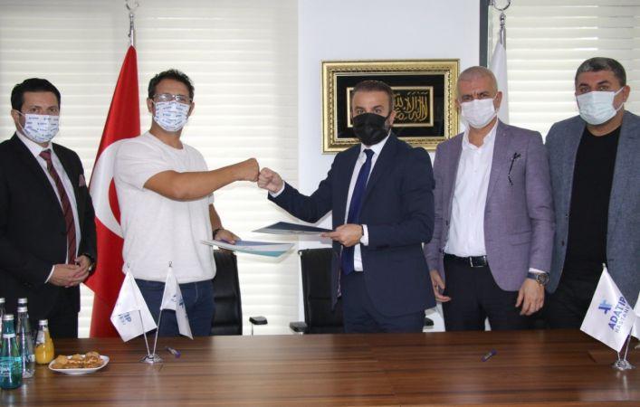Sakaryaspor'un yeni sağlık sponsoru Özel Adatıp Hastanesi oldu