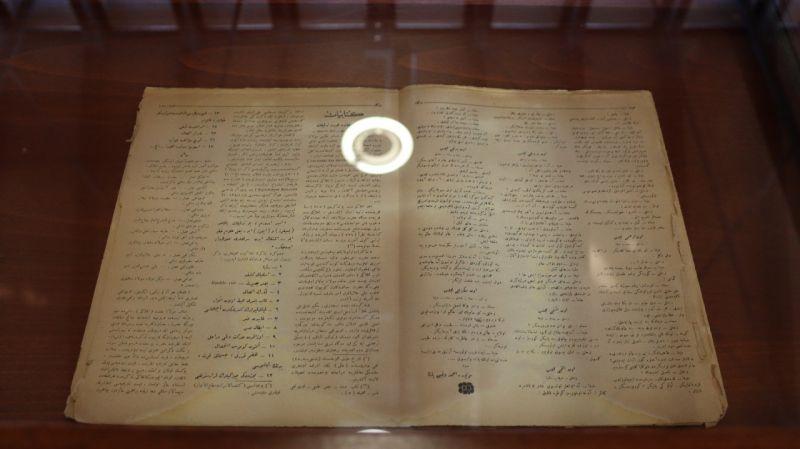 100 yıllık Dergah Mecmuası'nın Milli Mücadele'ye verdiği destek gelecek kuşaklara aktarıldı