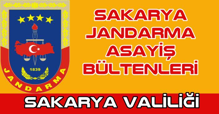 Jandarma Asayiş Bülteni15 Eylül 2021