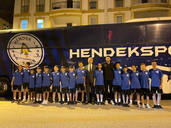 Hendek spor 2009 altyapı takımı Türkiye şampiyonasına katılacak