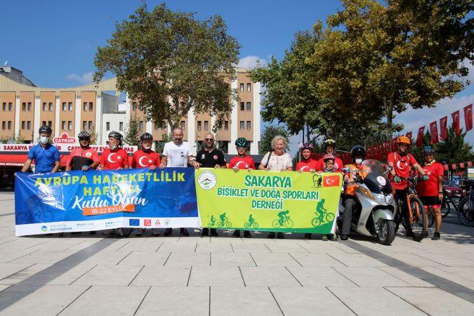 19 Eylül Gaziler Günü bisiklet turu ile anıldı