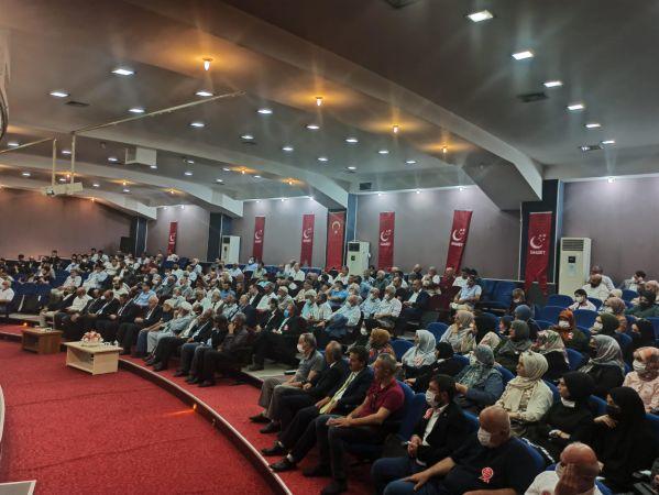 Saadet Erenler'de Muhammet Ekşioğlu Güven Tazeledi.