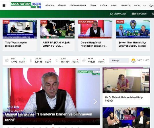 Sakaya web Tv videoları  sitesi paylaşıma açıldı
