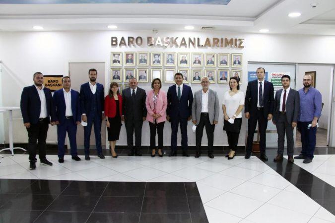 """DEVA Partisi heyetinden Sakarya Barosu'na ziyaret."""
