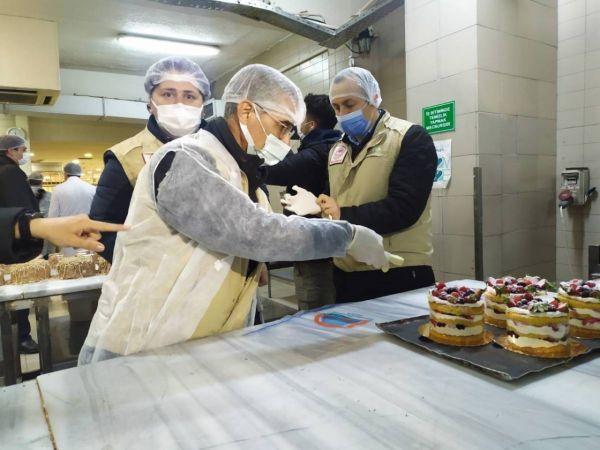 Gıda işletmecisine 15 bin 203 lira ceza yazıldı