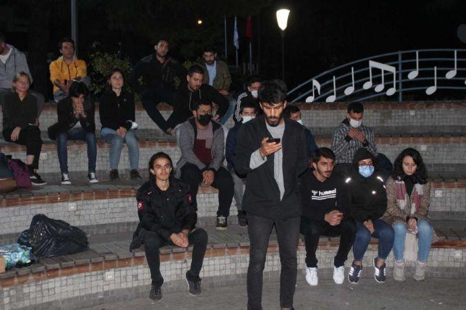 Kocaeli'de yurt eylemi yapan öğrenciler ile ilgili ilginç tespit
