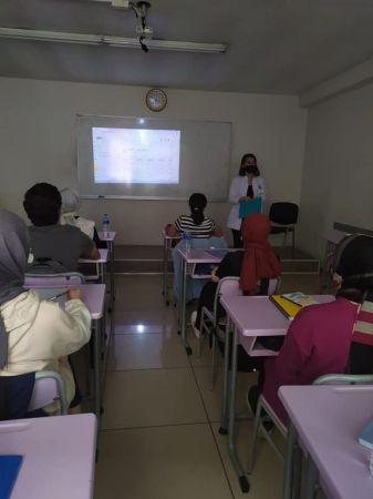 Dijital içerikler öğrencilere tanıtıldı
