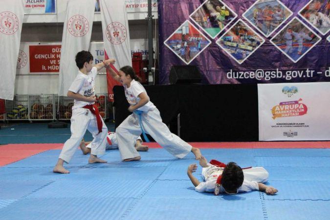 Düzce'de Avrupa Spor Haftası spor etkinlikleriyle başladı