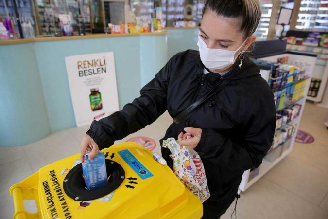 Atık ilaç toplama projesi sürüyor
