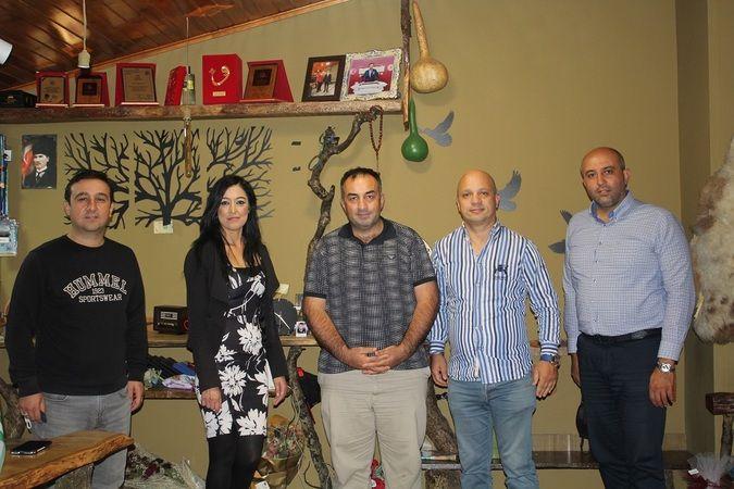 Sakarya Eşraf Platformu'ndan LC Habere ziyaret