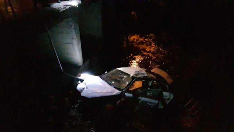 Kontrolden çıkan otomobil dereye düştü: 1 ölü
