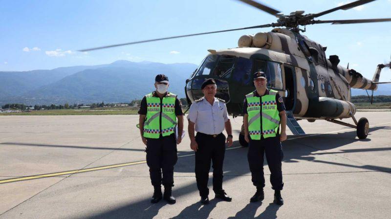 Kuzey Marmara Otoyolu helikopterle denetleniyor