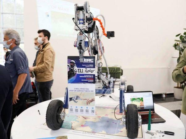 Öğrencilerin Mars keşif aracı uluslararası yarışmada dereceye girdi