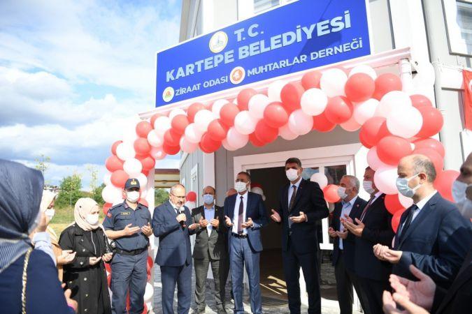 Kartepe sivil toplum merkezi hizmete açıldı