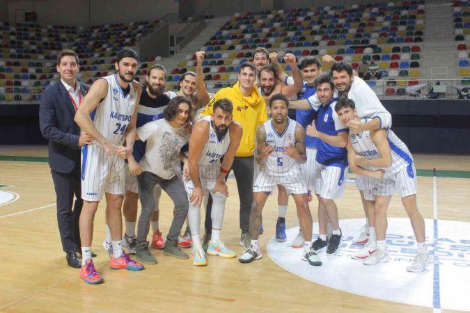 TBL: Kocaeli BŞB Kağıtspor: 78 - Akhisar Belediye Basketbol: 70