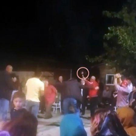 Düğün eğlencesinin ortasında havaya rastgele ateş açtılar