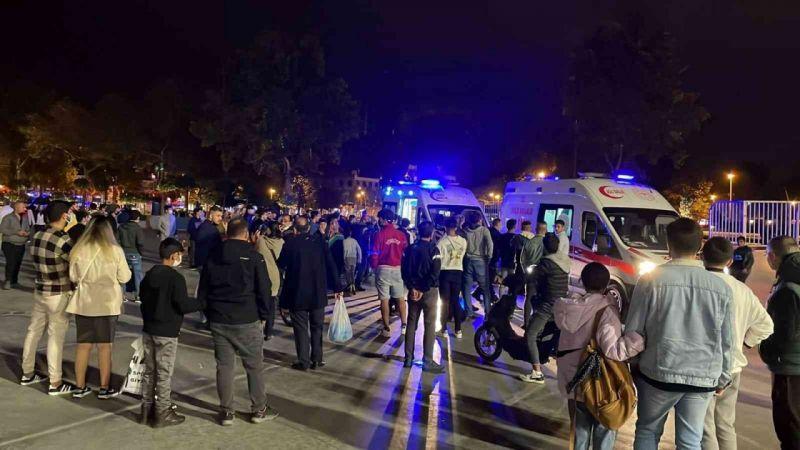 Yabancı uyruklu gençler arasında yan baktın kavgası: 1 ölü, 2 yaralı