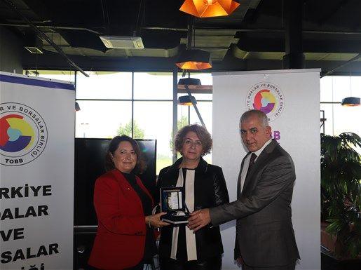 Sakarya İl Kadın Girişimciler Kurulu Doğu Marmara Bölge Toplantısı'na Katıldı
