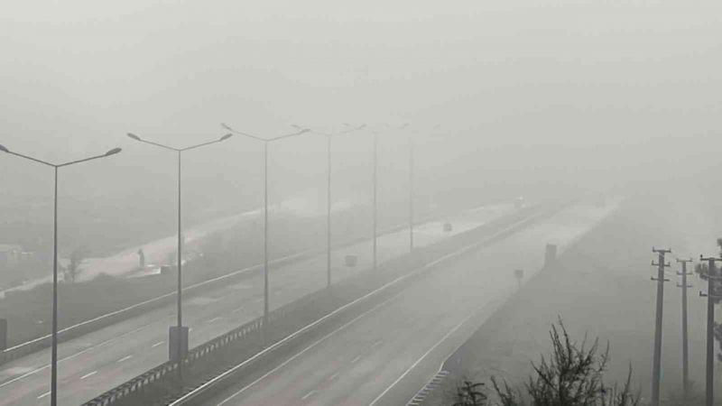 Düzce'de sis etkili oluyor