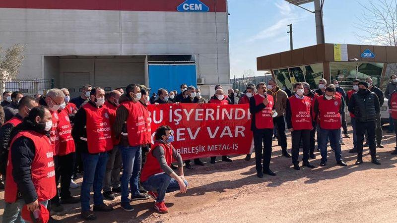 Cem Bialetti işçileri greve çıktı!