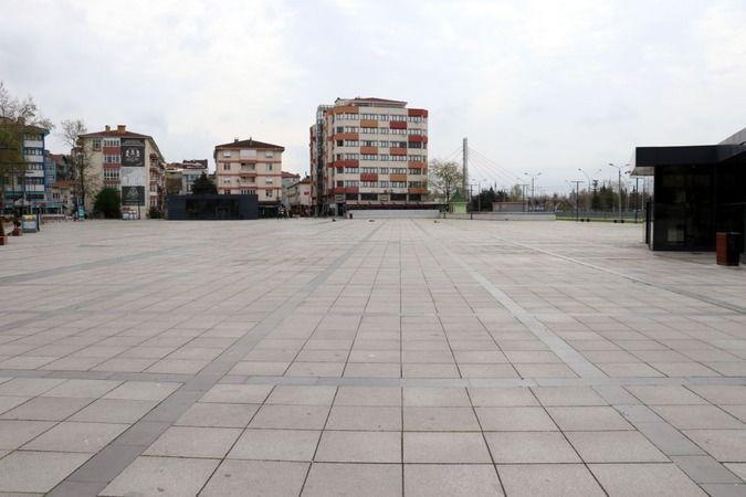 Kocaeli'de cadde ve sokaklarda yasak sessizliği!