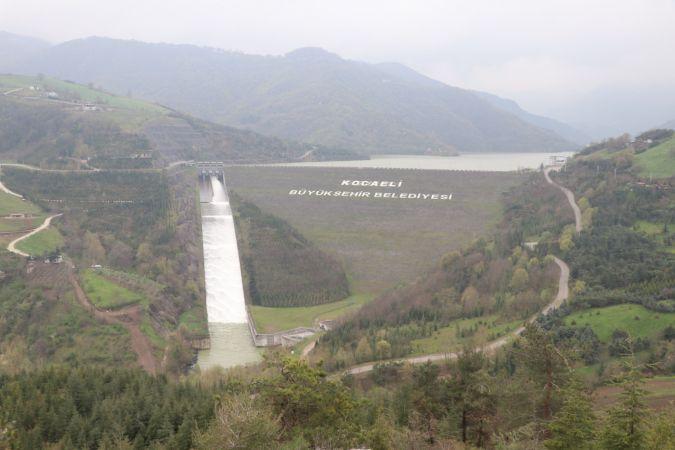 Kocaeli'deki Yuvacık Barajı'nda doluluk oranı yüzde 99'a ulaştı