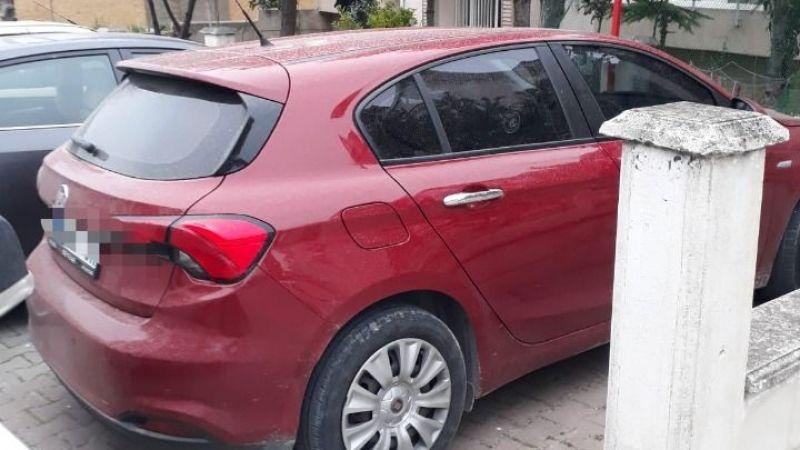 Kocaeli'den çalınan otomobil İstanbul'da bulundu!