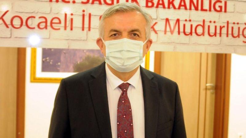 """Kocaeli İl Sağlık Müdürü Pehlevan: """"Salgından korunmanın en önemli yolu aşılama"""""""