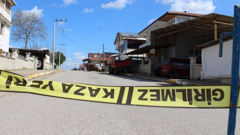 Kocaeli'de 2 sokak, karantinaya alındı