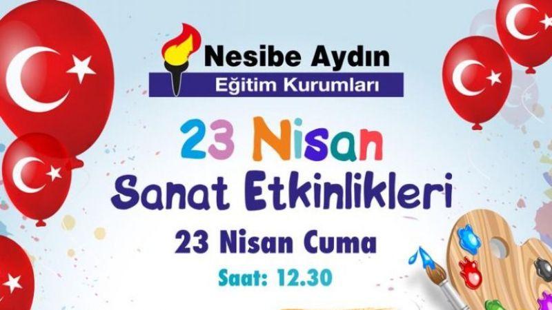 Nesibe Aydın'da 23 Nisan coşkusu