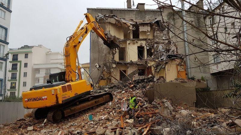 O ilçede 184 kaçak bina yıkılacak!