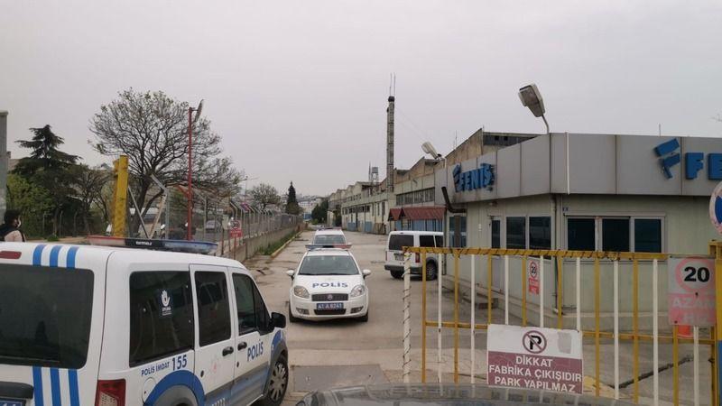 Gebze'de faaliyette olmayan alüminyum fabrikasında kablo hırsızlığı
